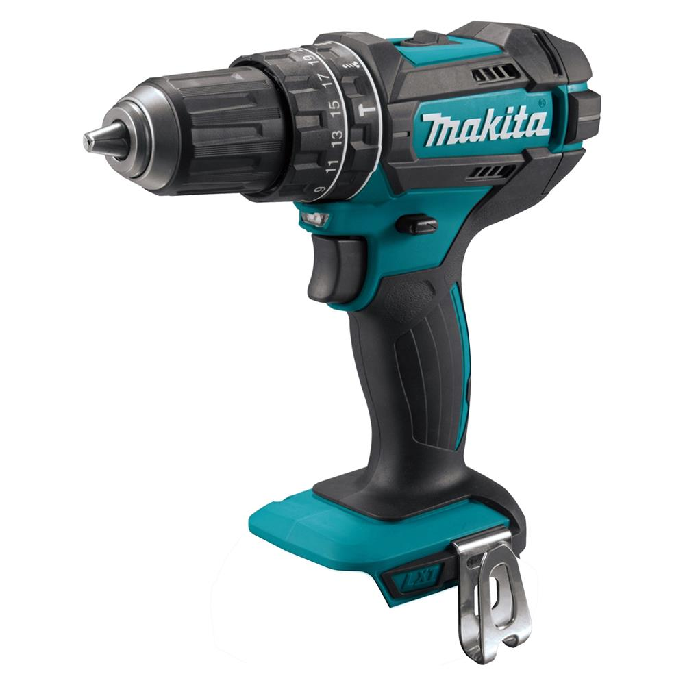 makita dhp482rmj 18v lxt combi drill with 2 x 4ah batteries charger and case