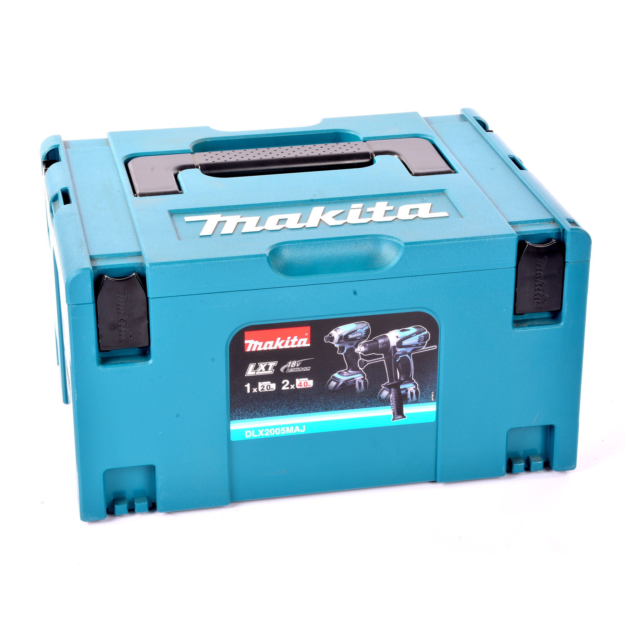 makita dlx2005maj makita 18v li ion 2 piece kit. Black Bedroom Furniture Sets. Home Design Ideas