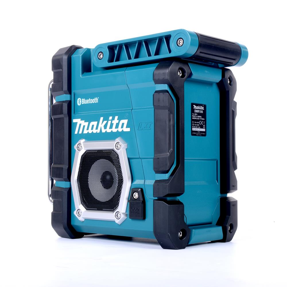 makita dmr106 makita job site bluetooth radio. Black Bedroom Furniture Sets. Home Design Ideas