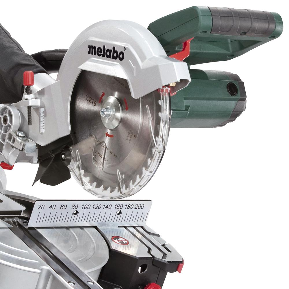 metabo kgs216m metabo 216mm mitre saw. Black Bedroom Furniture Sets. Home Design Ideas