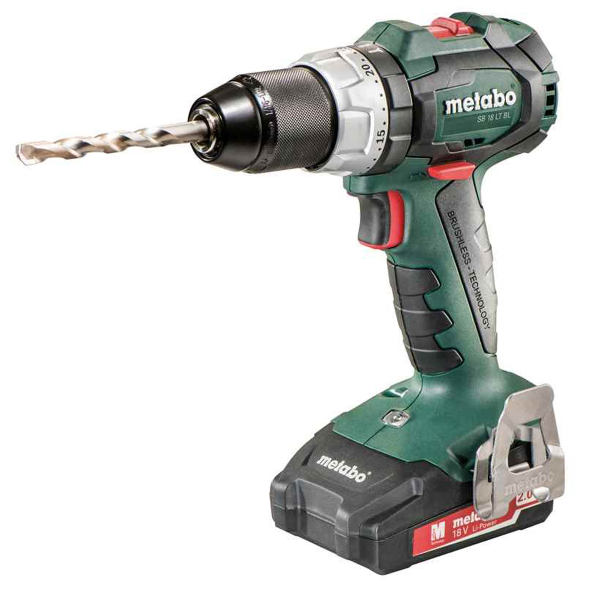 metabo sb18ltbl metabo 18v hammer drill driver. Black Bedroom Furniture Sets. Home Design Ideas