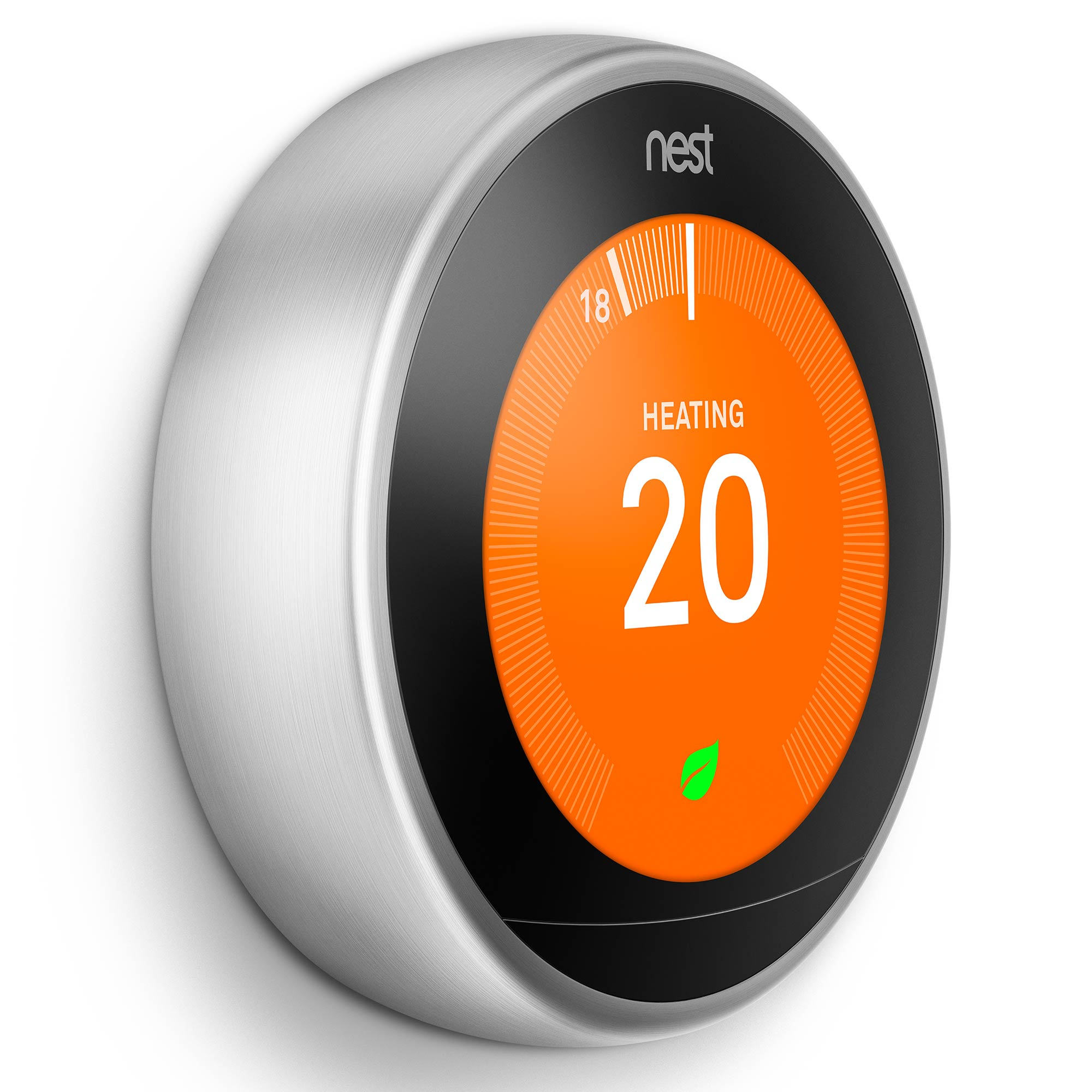 Nest,T3010GB,Learning Thermostat 3rd Generation - Stainless Steel