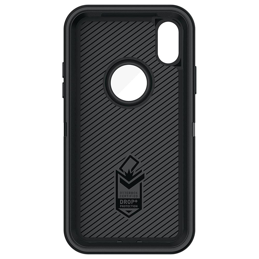 innovative design 50a97 8be15 Otterbox,77-57026,OtterBox Defender iPhone X Case - Black