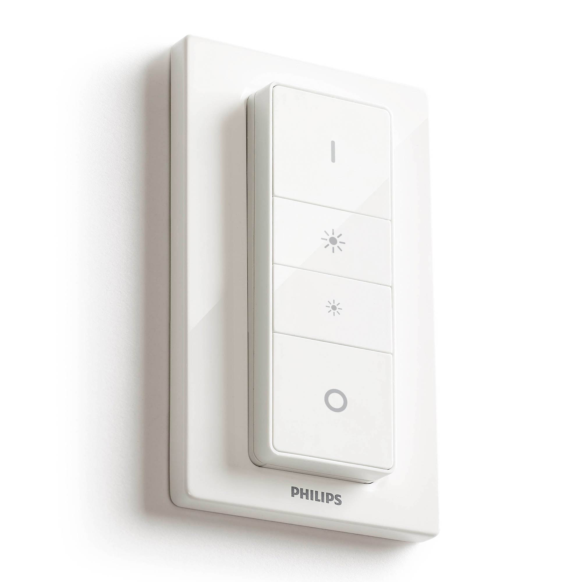 Kæmpestor Philips Hue 929001173761 | Philips Hue Dimmer Switch WE02