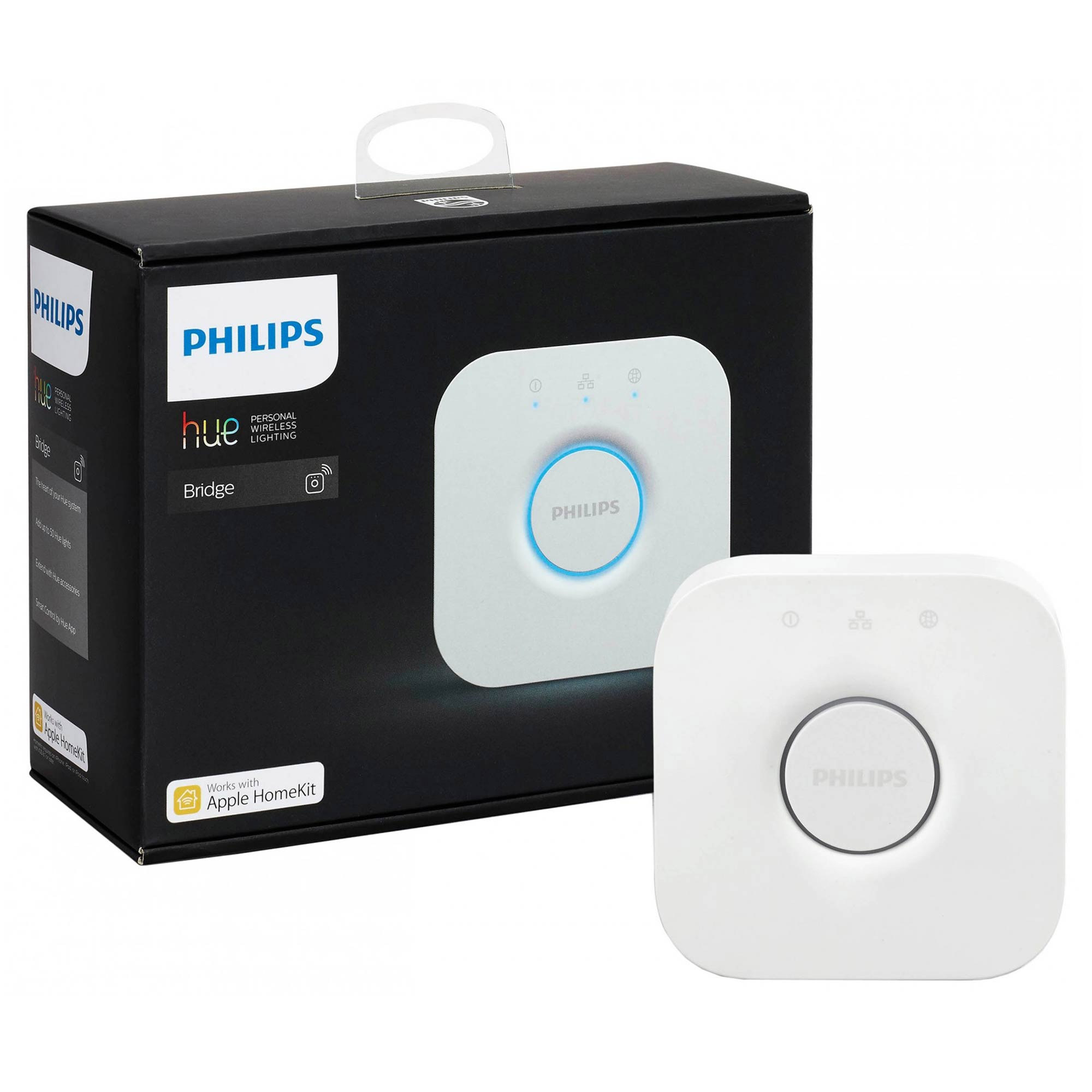 philips hue 929001180606 philips hue bridge hub. Black Bedroom Furniture Sets. Home Design Ideas