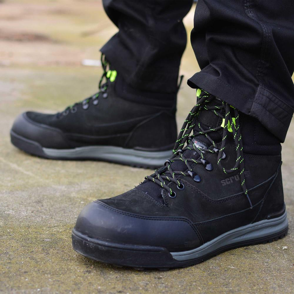 Scruffs Game Game Safety Boot Black