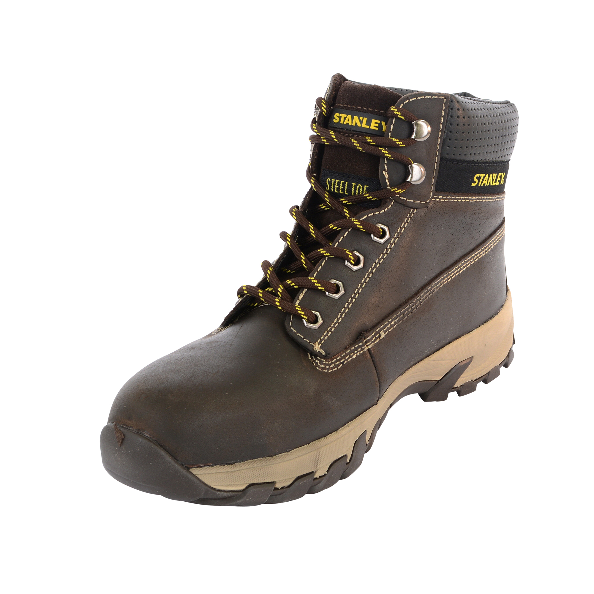 d28a09aa43f Stanley,10003104,Hartford Safety Boots - Brown