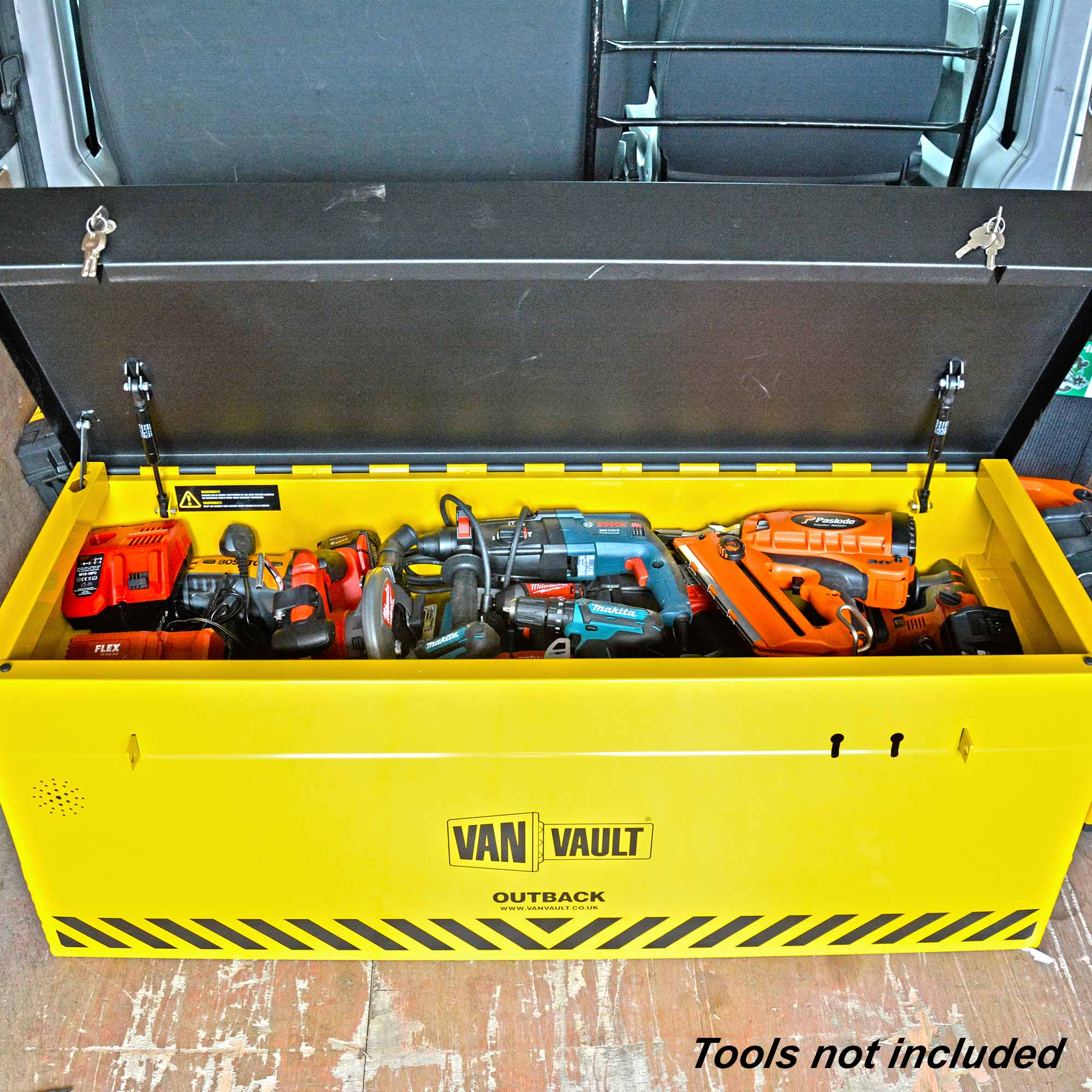95bc4be872a730 ... Van Vault OUTBACK Van Vault Outback With Free Tool Box (Inside Box) Alt Image 2  ...