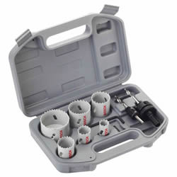Bosch 9 Piece Electricans Holesaw Set