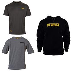 Dewalt  T-Shirts and Hoody Box Bundle