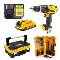 Dewalt  18V XR Combi Drill Mega Value Box Bundle