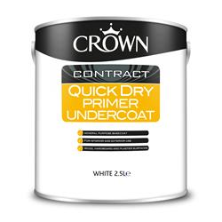 Crown 5090758 Quick Dry Undercoat White - 2.5L