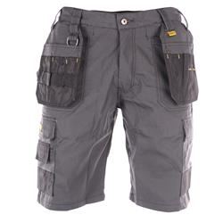 Dewalt CHEVERLEY Ripstop Multi-Pocket Shorts Grey/Black