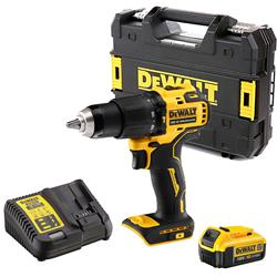 Dewalt DCD709M1T Dewalt DCD709M1T 18V XR Brushless Combi Drill with 1x 4Ah Battery, Case & Charger