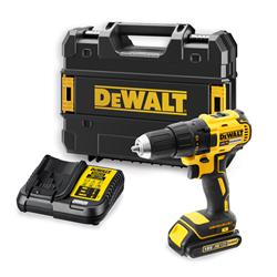 Dewalt DCD777S1 18v XR Brushless Drill Driver with 1 x 1.5Ah Battery, Charger and Case
