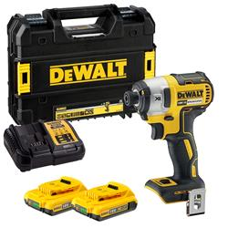 Dewalt DCF887D2 18v XR Brushless Impact Driver with 2 x 2Ah Batteries, Charger and Case