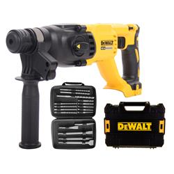 Dewalt DCH133KIT 18v XR Brushless SDS+ Drill Body with Case and 17 Piece Accessory Set