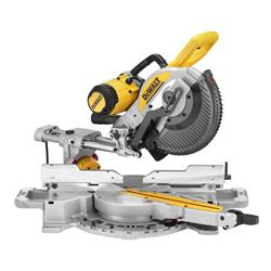 Dewalt DWS727-GB 250mm Double Bevel Slide Mitre Saw with XPS