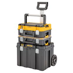 Dewalt DWST83411-1 TSTAK® 2.0 Mobile Box Bundle - With Long Handle, Shallow Box, Organiser & Mobile Box