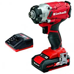 Einhell 4510036 18v Impact Driver with 1 x 2Ah Battery, Charger and Case