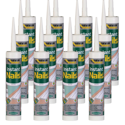 Everbuild INSTBOX12 Everbuild Instant Nails Grab Adhesive - Pack of 12