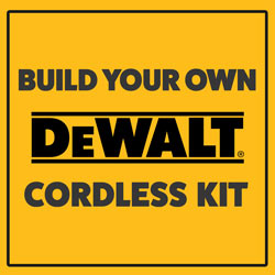 Dewalt Custom Kit Builder