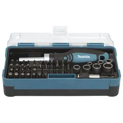 Makita B-36170 Makita 47 Piece Ratchet Socket and Screwdriver Bit Set