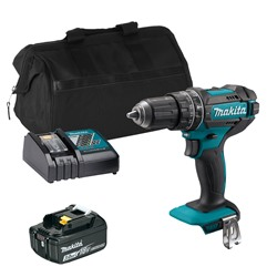 Makita DHP482 18V LXT Combi Drill with 1x 3.0Ah Battery, Charger and Bag
