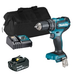 Makita DHP485 18V LXT Brushless Combi Drill with 1x 3.0Ah Battery, Charger and Bag