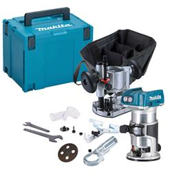 Makita DRT50KIT 18v Li-ion Brushless Router/Trimmer Kit