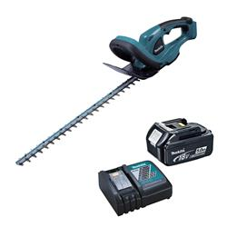 Makita DUH523RT 18v LXT 52cm Hedge Trimmer with 1 x 5Ah Battery and Charger