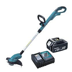 Makita DUR181RT 18v LXT 26cm Line Trimmer with 1 x 5Ah Battery and Charger