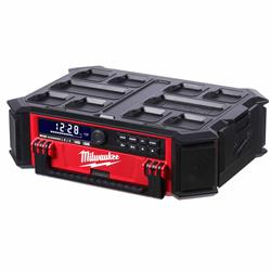 Milwaukee M18 PRCDAB+0 Milwaukee M18 PRCDAB 18V Packout DAB Radio & Charger - Body Only