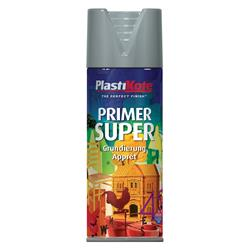 Plastikote 1148 Super Primer Spray Grey 400ml