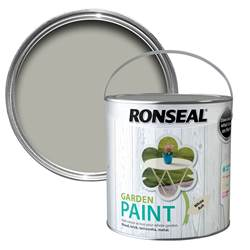Ronseal  Ronseal Garden Paint White Ash 2.5 Litre