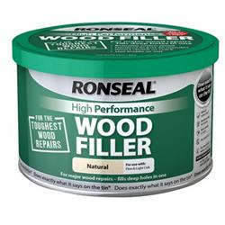 Ronseal HPWFN275G High Performance Wood Filler Natural 275g
