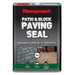 Thompsons  Patio & Block Paving Seal Satin 5 litre