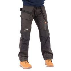 Scruffs T5193-DGR 3D Trade Work Trousers with Holster Pockets - Graphite