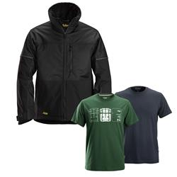 Snickers 11480404 Winter Jacket - Black