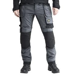 Snickers 62415804 AllroundWork Stretch Trouser with Holster Pockets - Steel Grey