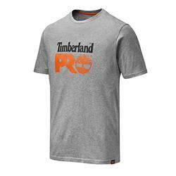 Timberland Pro TB0A4QT2GYM Cotton T-Shirt - Heather Grey