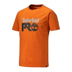 Timberland Pro TB0A4QT2OR Cotton T-Shirt - Burnt Orange