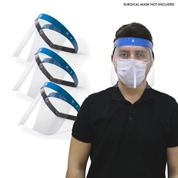 Mediroc  Re-Usable Face Shield Pack of 3