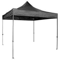 Vaunt 18001 Black Folding Gazebo 3m x 3m