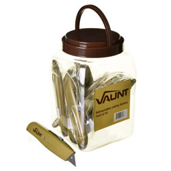 Vaunt 20021 Retractable Utility Knife Pack of 10