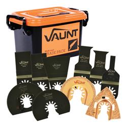 Vaunt 30011 34 Piece Multi-Tool Accessory Trade Pack