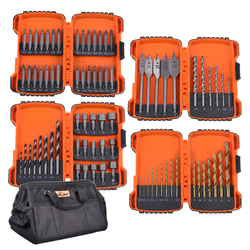 Vaunt 30052 79 Piece Drill Accessory Set with Tool Bag