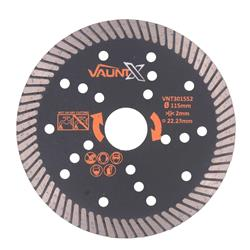 Vaunt X 301552 115mm Turbo Diamond Blade