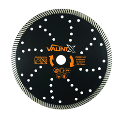 Vaunt X 301562 230mm Turbo Diamond Blade
