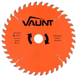 Vaunt 302032 165mm 40 Tooth TCT Blade
